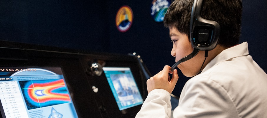 Student at Mission Control